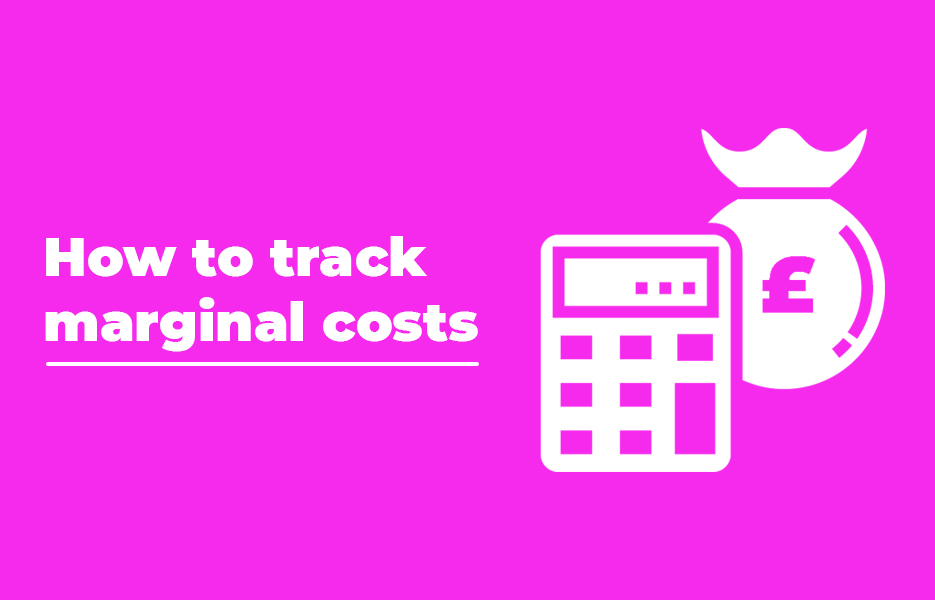 How to track marginal costs