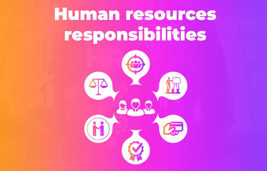 Human resources responsibilities