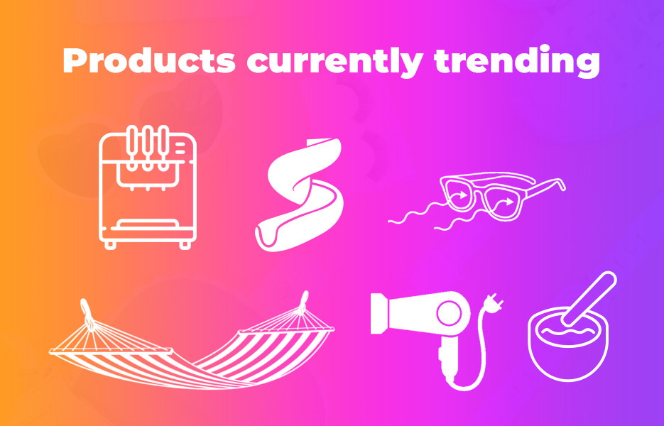 Products currently trending