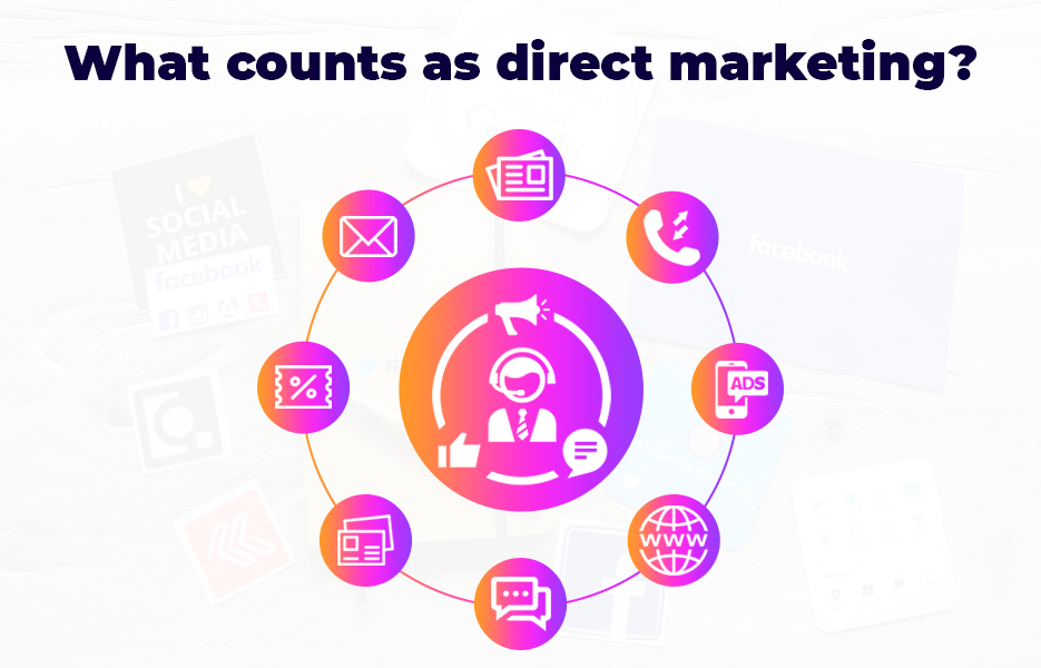 What counts as direct marketing