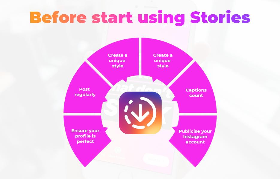 Before start using Stories
