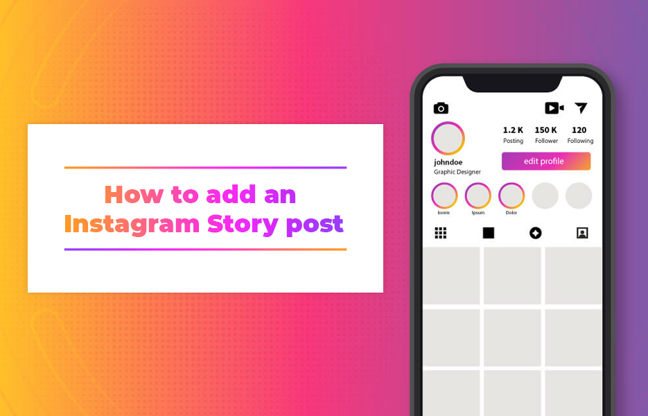 How to add an Instagram Story post