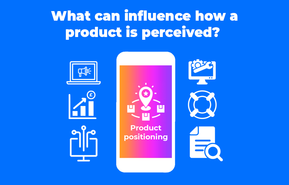 What can influence how a product is perceived