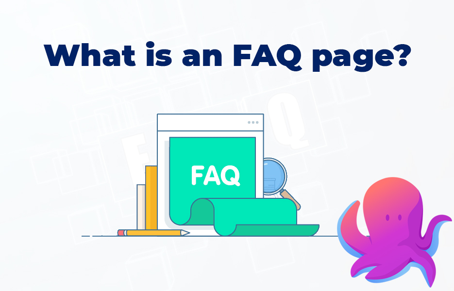 What is an FAQ page